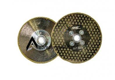 Алмазный диск напыление (пирамидка) Ø 115, 125хM14