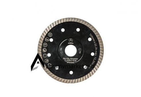 Алмазный диск турбо ребро KODIA Ø 125