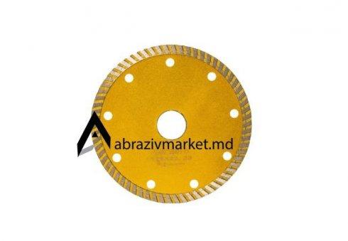 Алмазный диск турбо тонкий желтый Ø 125