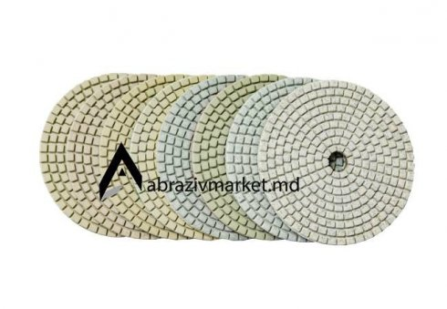 Алмазный шлифовальный круг велкро Ø 100 (универсал)
