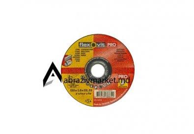 Отрезной диск по  нержавейки Flexovit 125x1,0