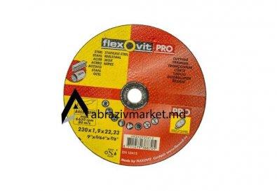 Отрезной диск по  нержавейки Flexovit 230х1,9