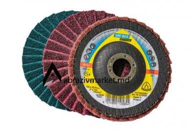 Лепестковый диск скотчбрайт SMT800 Ø125